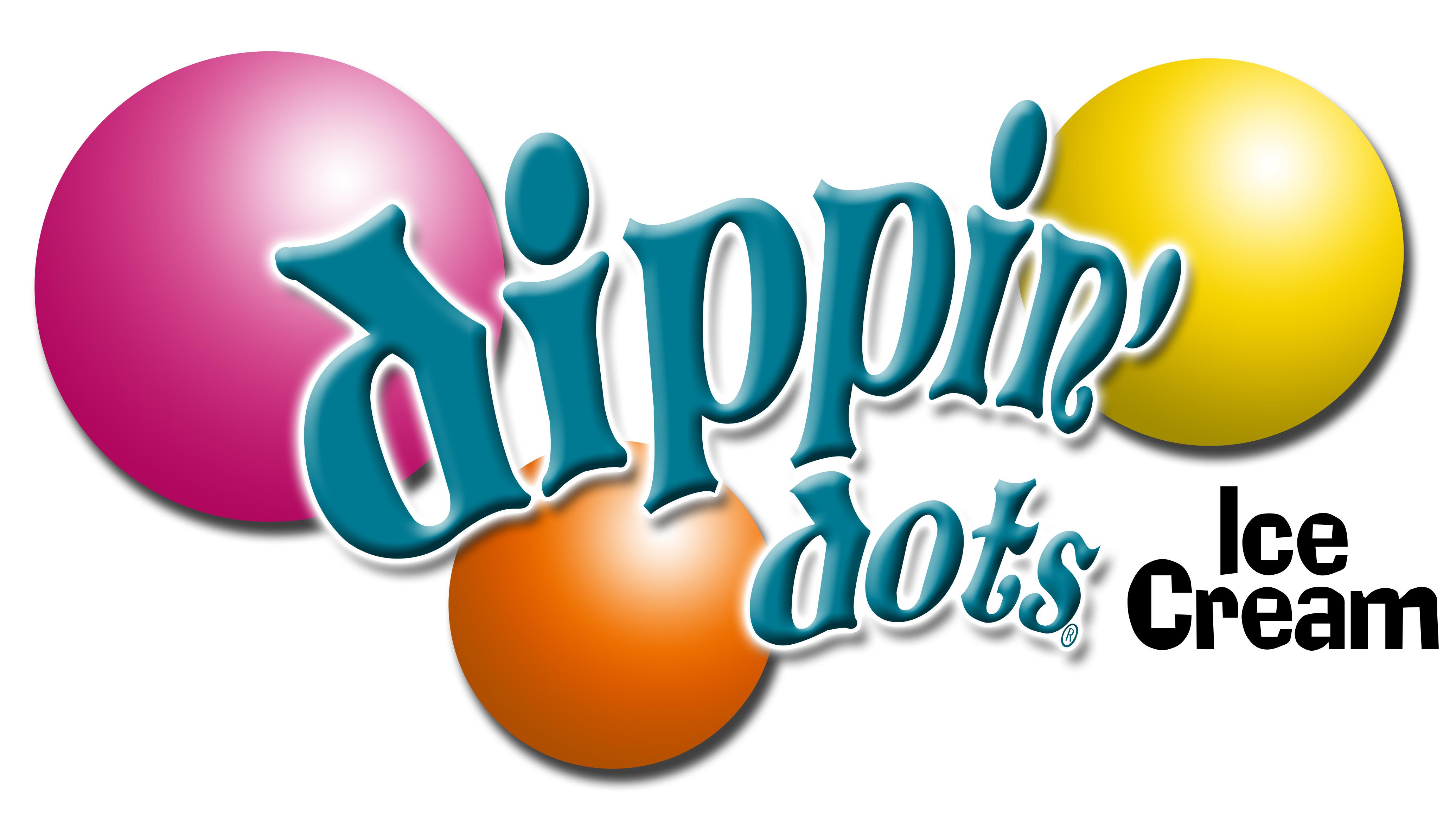 Dippin' Dots Warped Logo (3 Dots - Vertical)(PMS Colors)