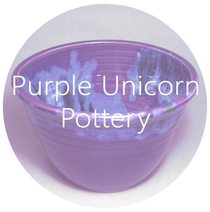 purple pottery