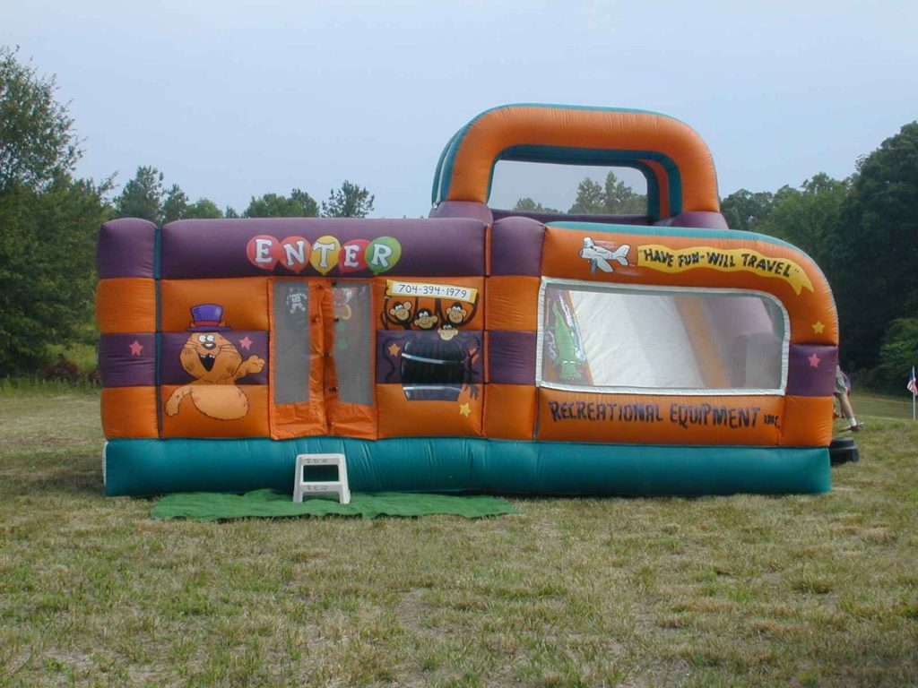 Inflatable Funhouse