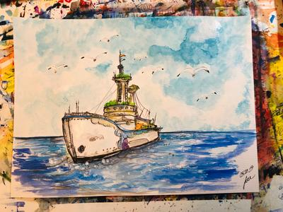 Watercolors by Doug