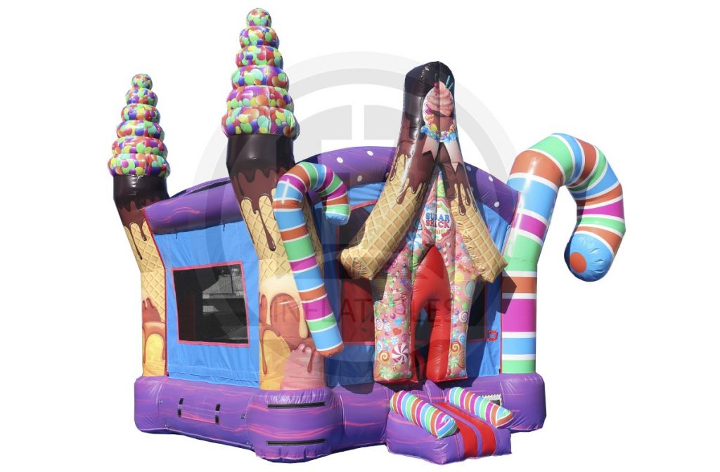 Candy Cane Bouncehouse